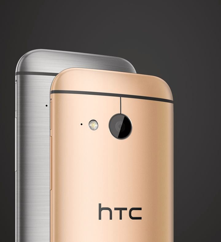 HTC One mini 2 fås i to farger.Foto: HTC