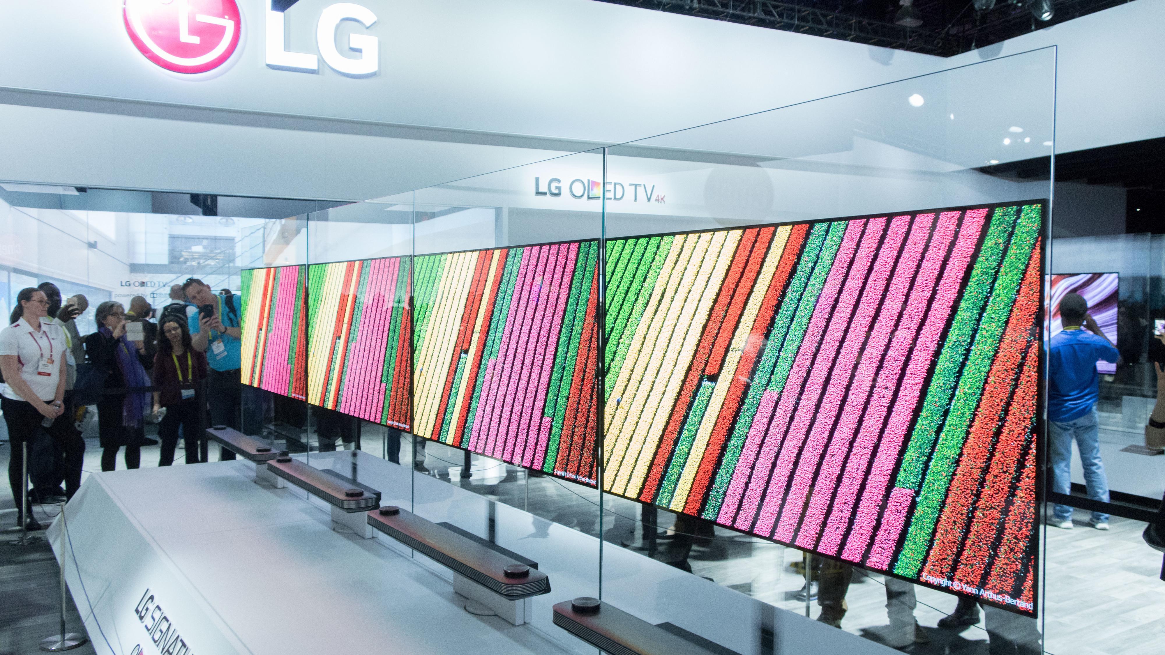 LGs nye OLED er syltynn.