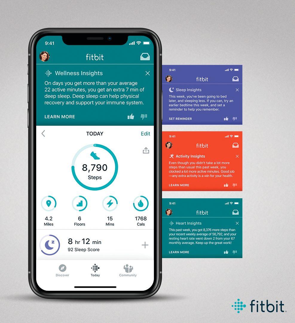 Fitbit Premium skal gi deg enda bedre oppfølging og tips tip trening, mat og søvn.