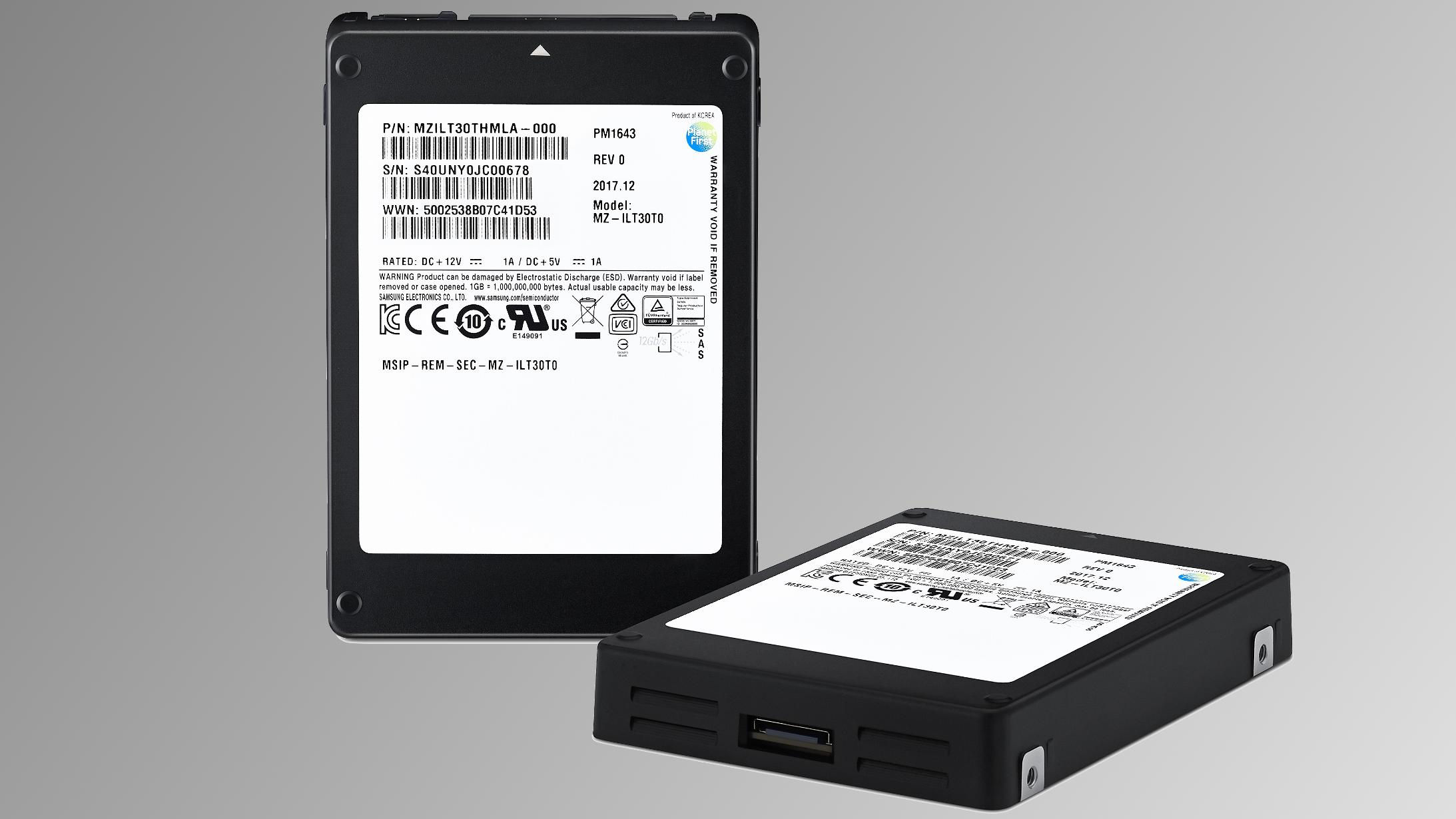 Samsung har laget en SSD på 30 TB