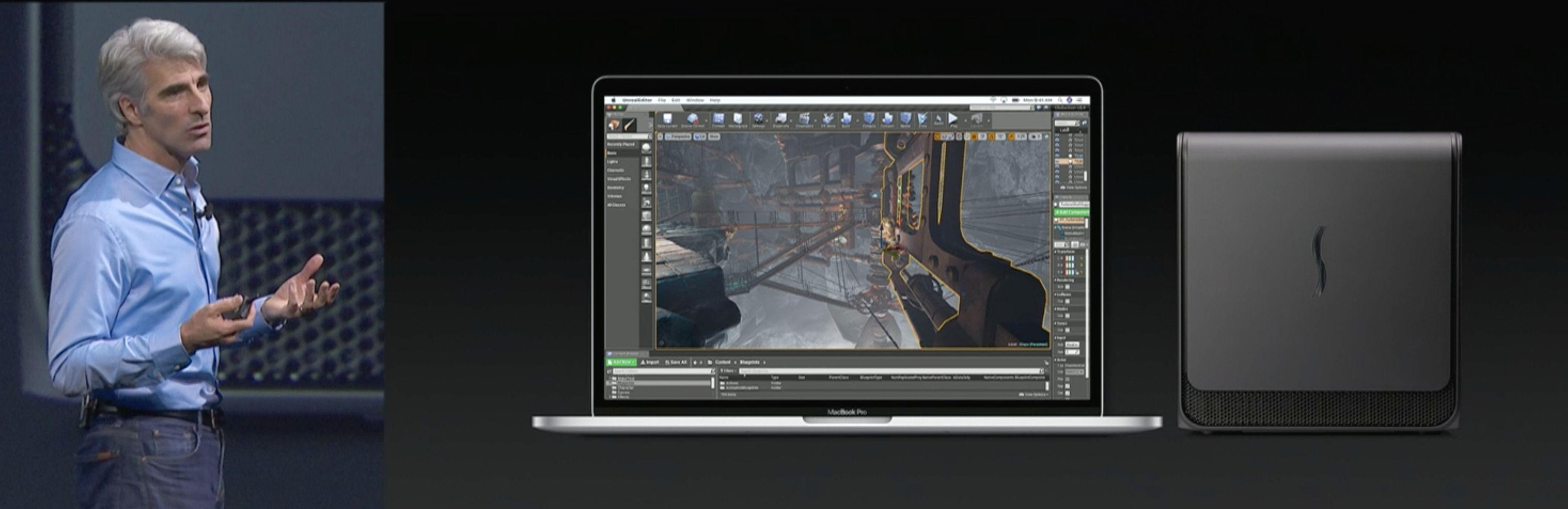 MacBook Pro-modellene får nå støtte for ekstern grafikk, direkte fra Apple.