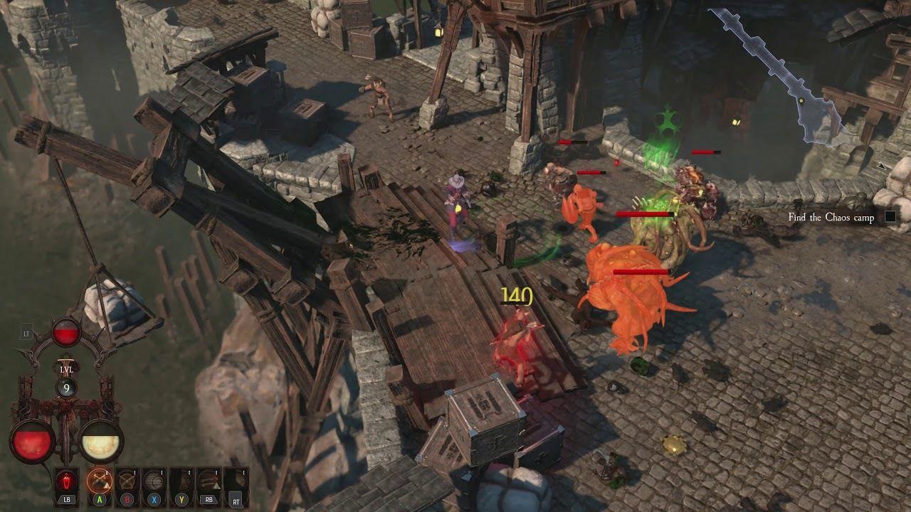Warhammer: Chaosbane.