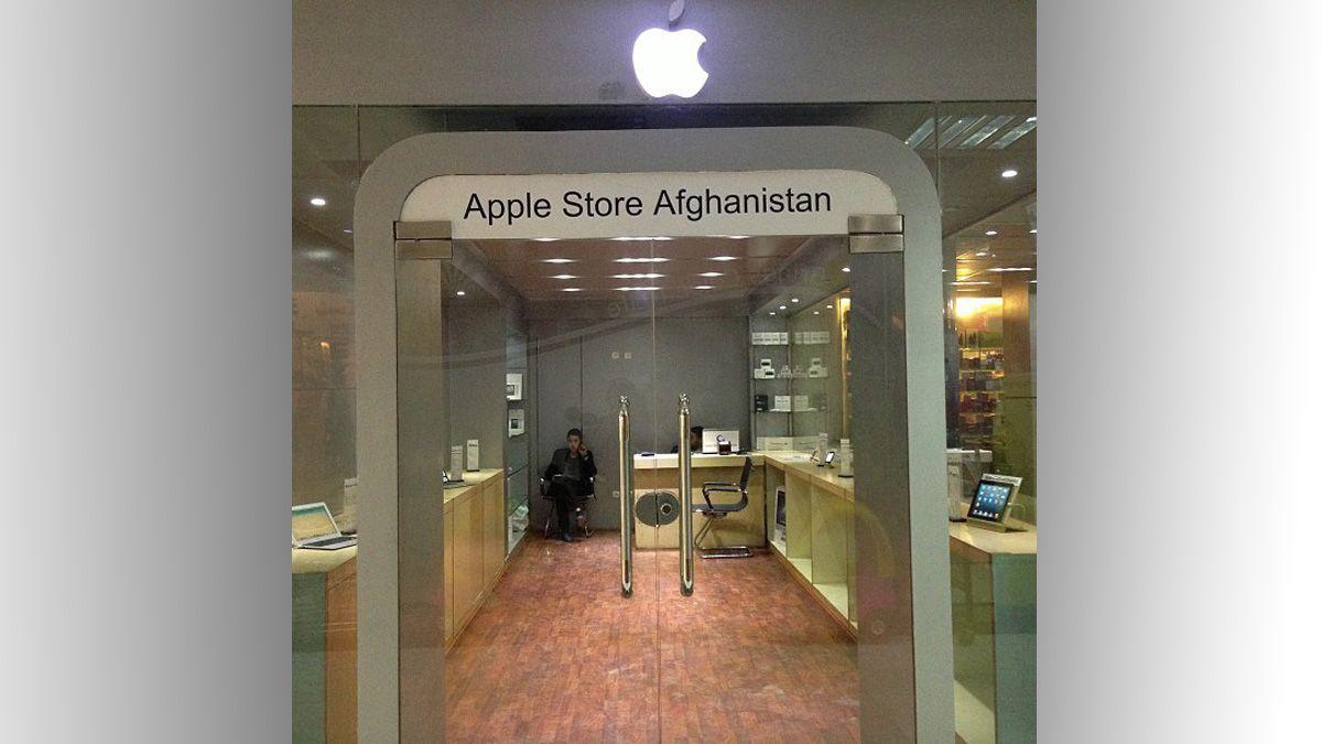 Her er Afghanistans eneste Apple-butikk