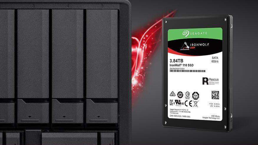 Seagate har lansert en NAS-optimalisert SSD