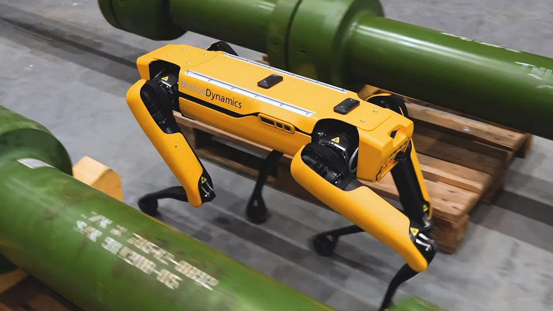 Robothunden Spot har blitt testet i simulerte olje- og gassmiljøer.