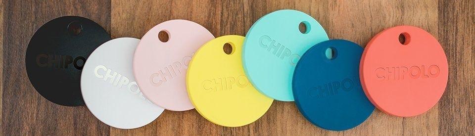 Dette er fargene du har å velge mellom for den nye Chipolo Plus.