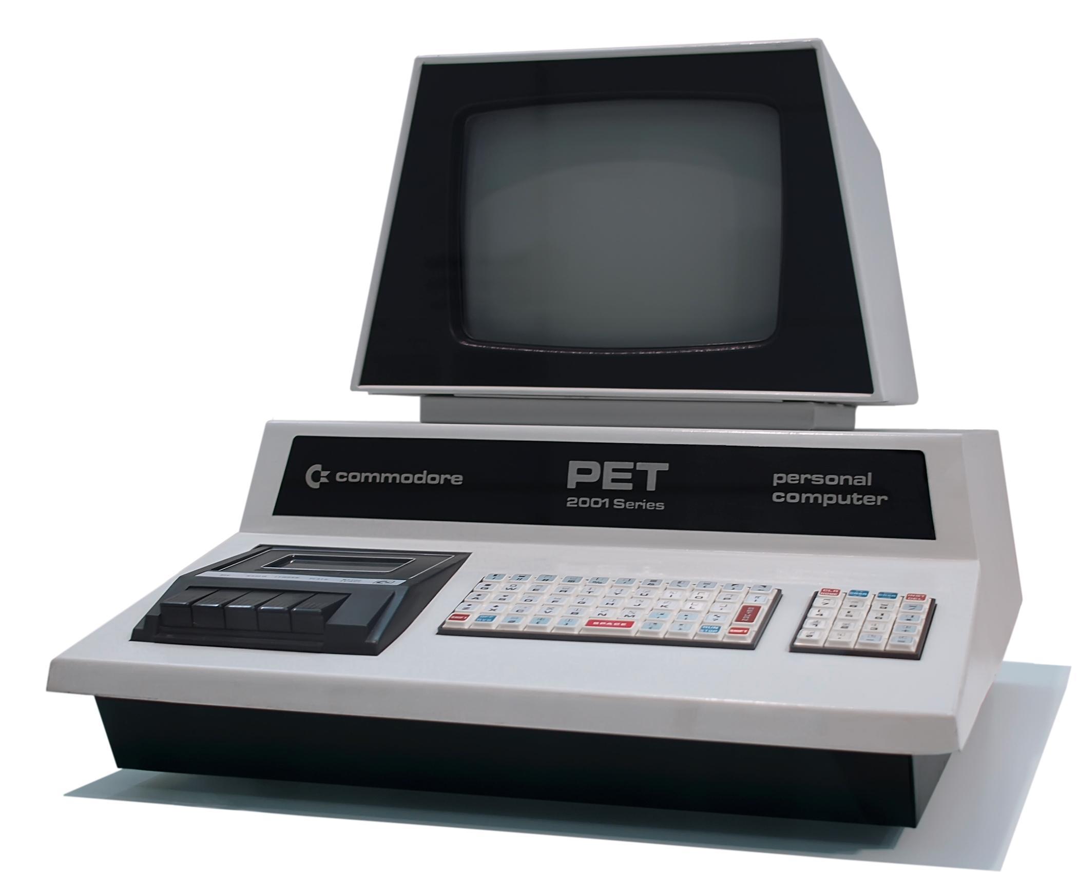 Commodore PET2001. Foto: Wikimedia