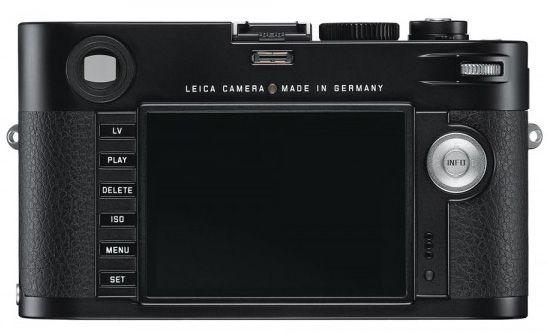 Leica M - bakside.