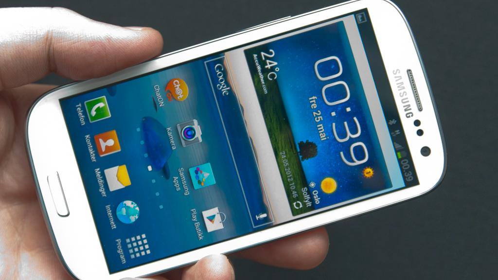 Samsung Galaxy S III er en sikker vinner, og fantes garantert under mange juletrær i år.Foto: Amobil.no