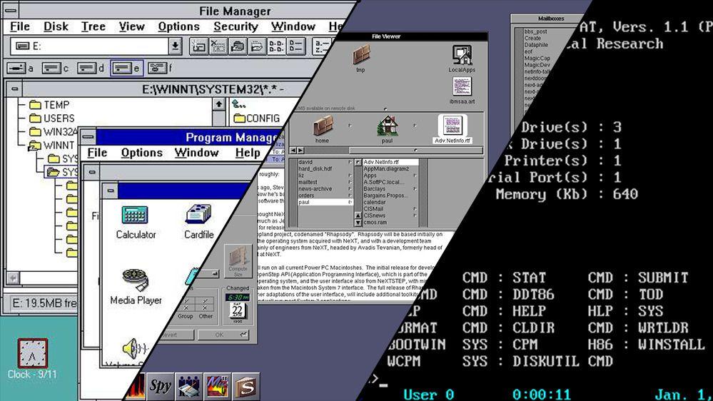 Husker du disse operativsystemene?