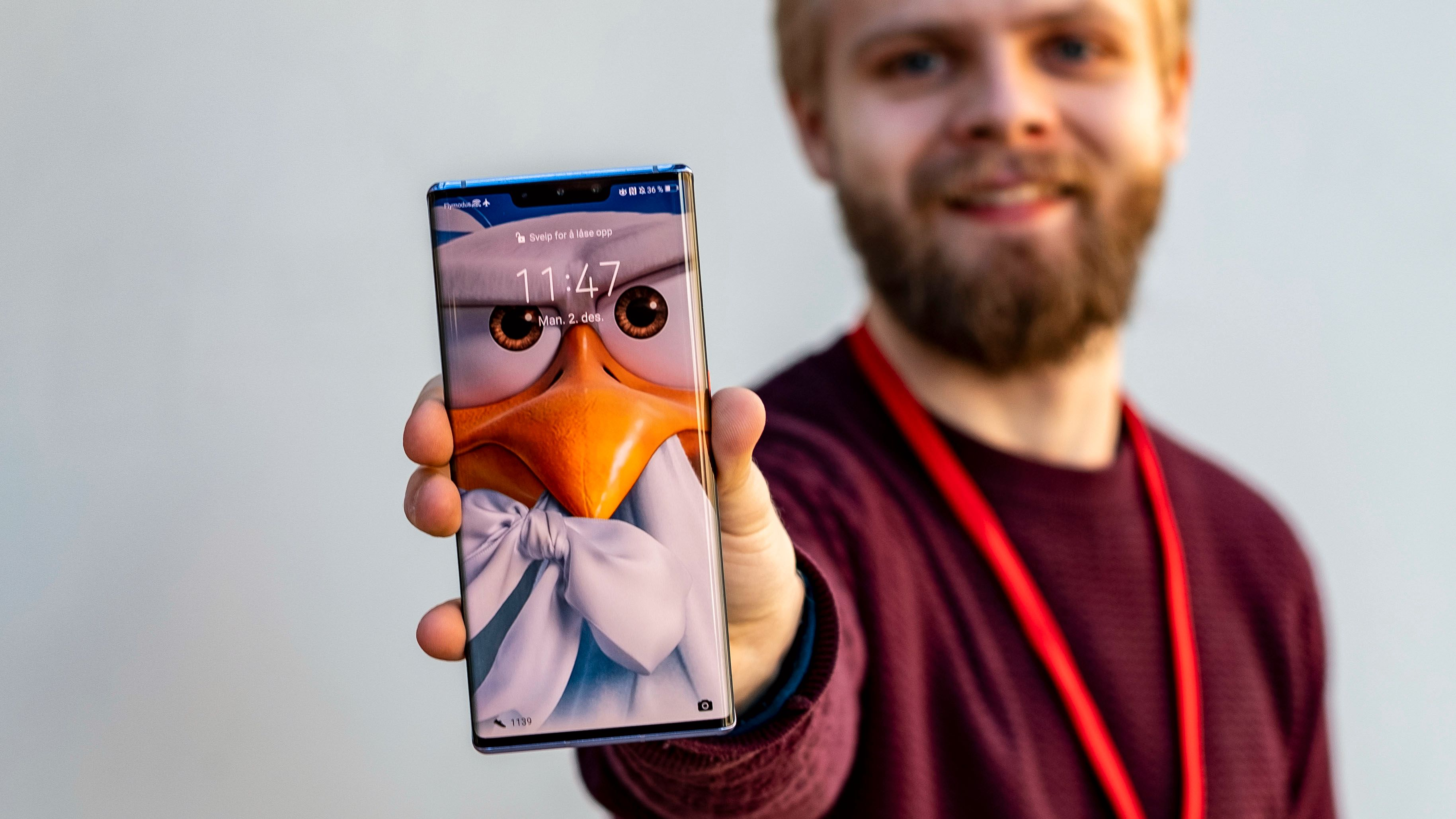 Huawei-mobilen du ikke kan kjøpe