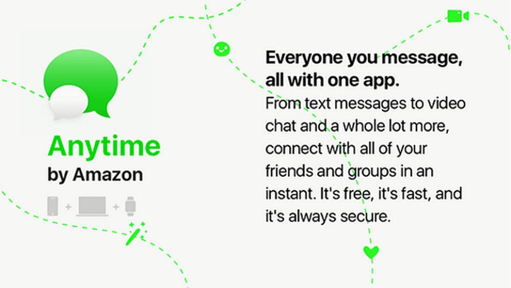 Amazon jobber med en egen meldingsapp som kan true alle de andre på markedet