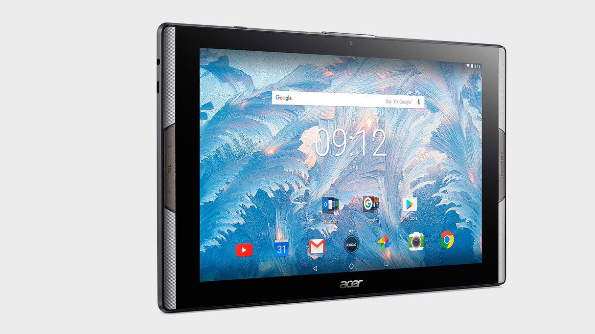 Acers nye nettbrett har både kvanteprikk-skjerm og skikkelig gromlyd