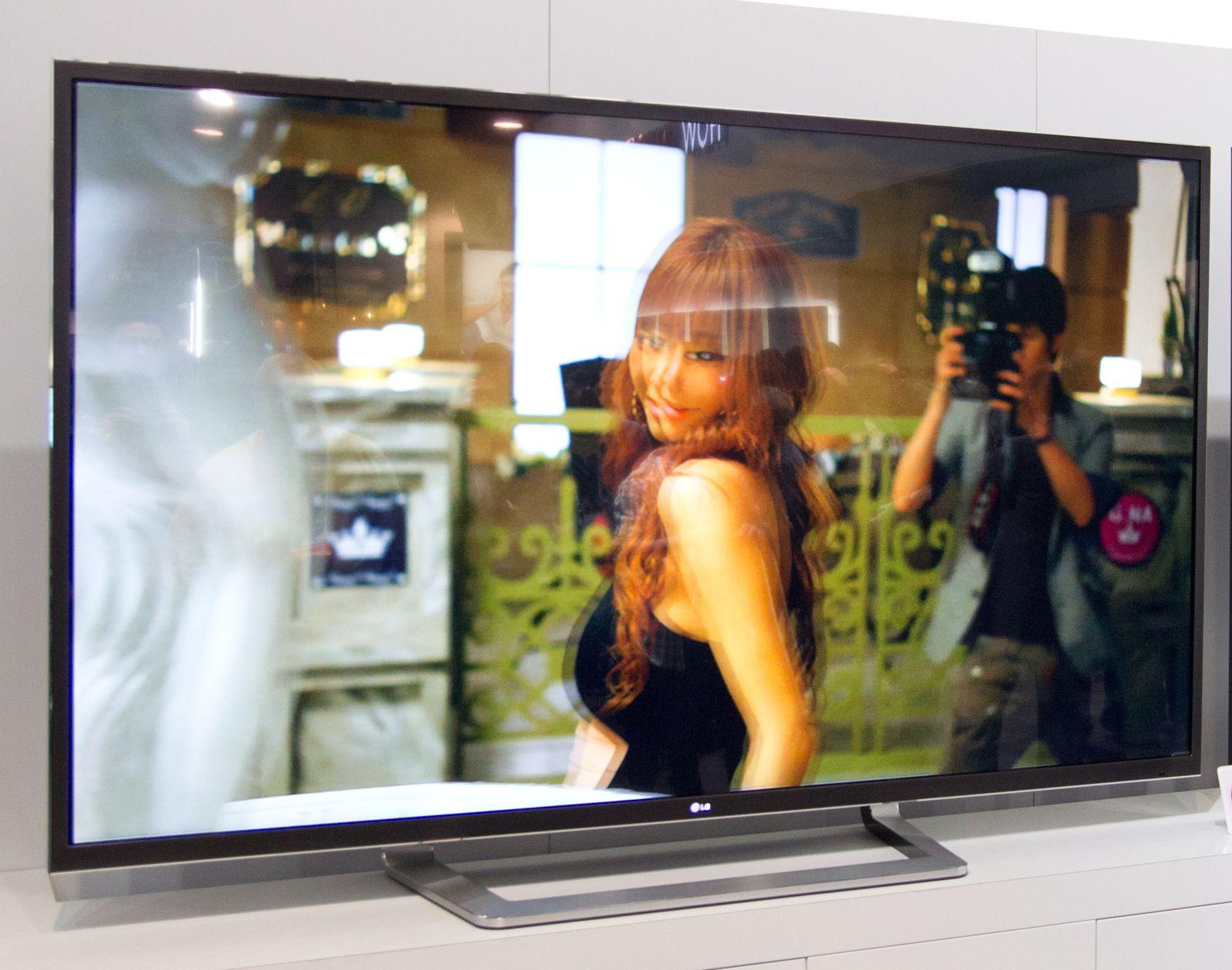 LG viste fram en 84 tommer stor 4K-TV på IFA-messen i Berlin i høst.Foto: Hardware.no
