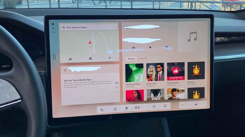 Flere detaljer om neste Tesla Model S og det nye grensesnittet