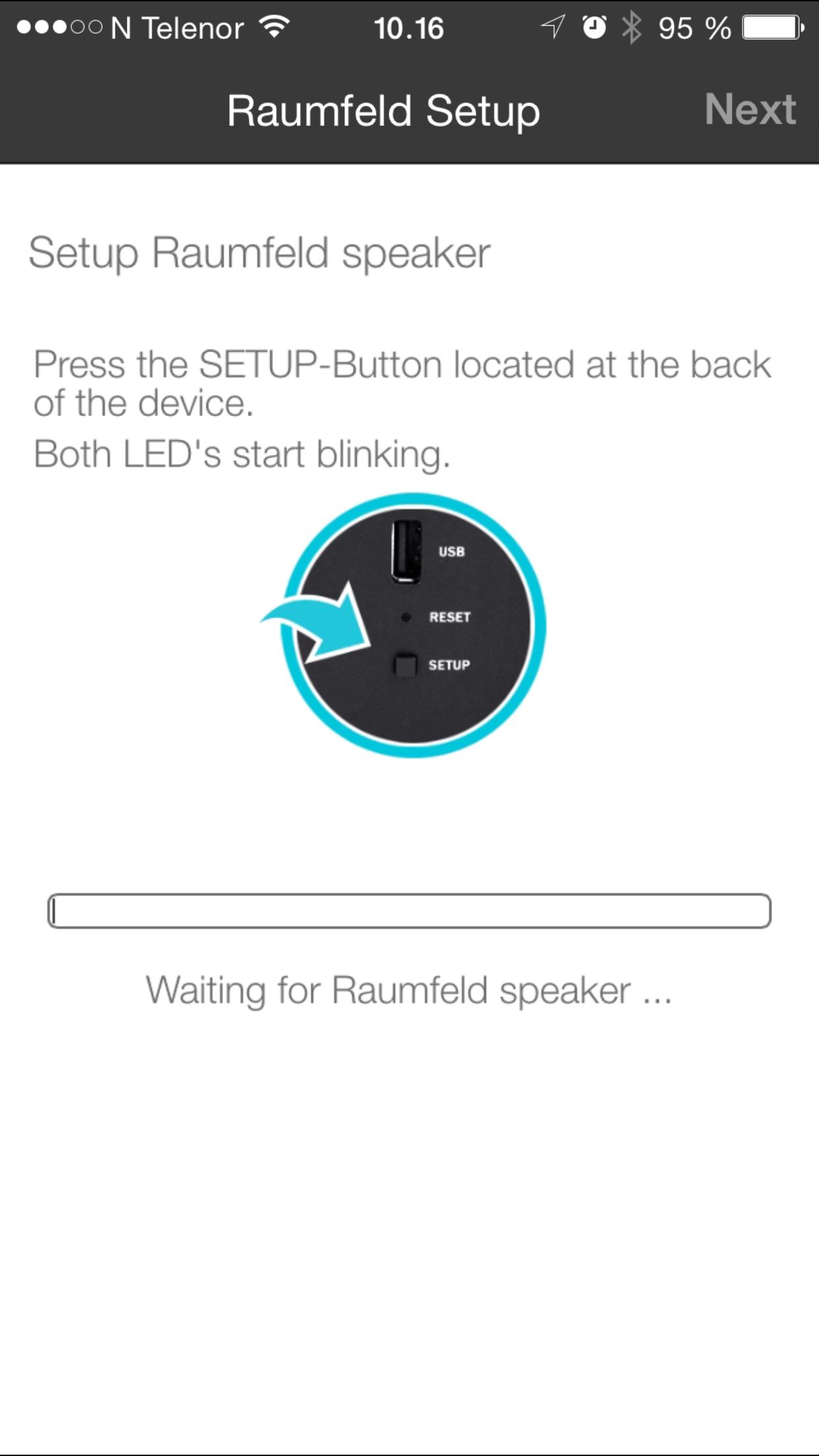 Følge instruksjonene, så er det enkelt å koble høyttalerne til nettverket ditt.