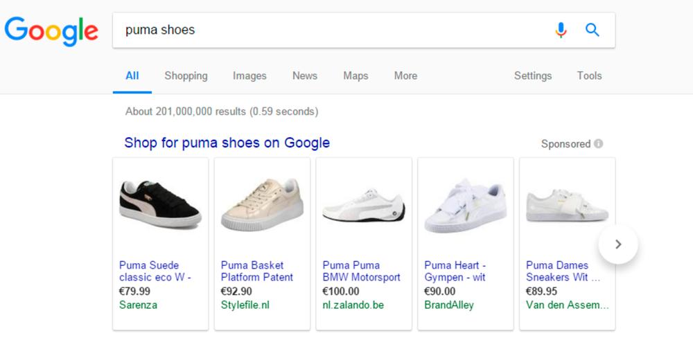 Google mener måten produktene vises på via Google Shopping-tjenesten er fordelaktig for kundene.