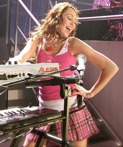 Miley Cyrus, også kjent som Hannah Montana. Foto: Mike Schmid