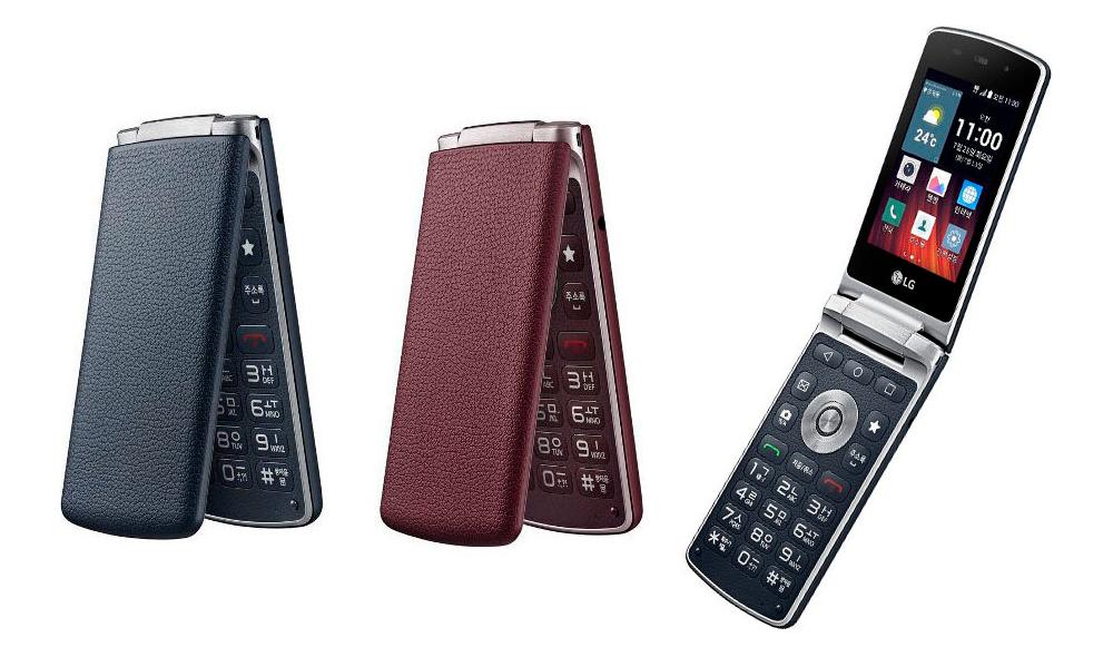 LG Easy Smart finnes i både rødt og blått. Begge fargene kommer til Norge. Foto: LG