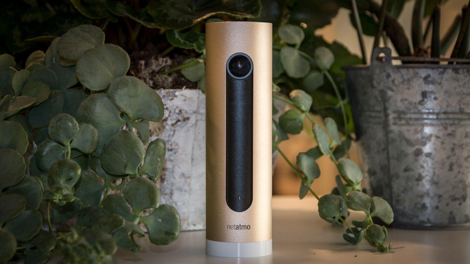 Innendørskameraet «Welcome» er blant de første Netatmo-enhetene vi kan prate til. Bilde: Kristoffer Møllevik