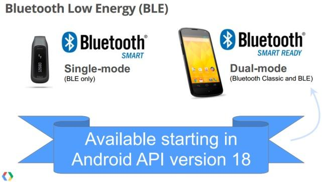 Bluetooth-BLE-in-Android-API-18.Foto: via Android Authority