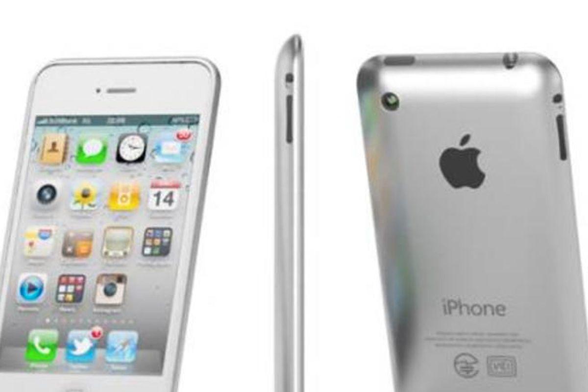 Er dette iPhone 5? Det får vi neppe vite før til høsten.