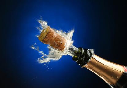 Ha kameraet klart til champagnefrokosten.