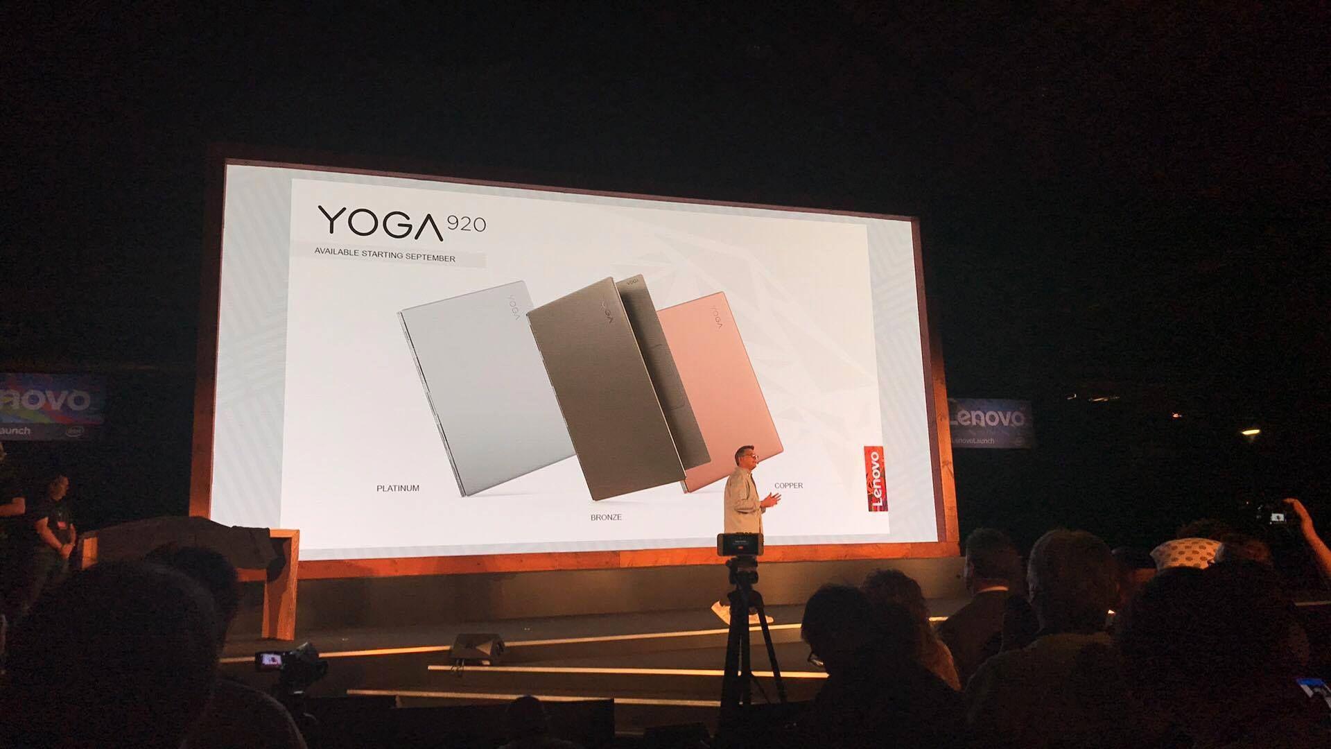 Nye Yoga 920 vises frem..