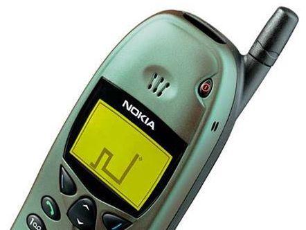 Nokia var først ute med spill på mobilen. Ikke så avansert, men vanedannende for enkelte.