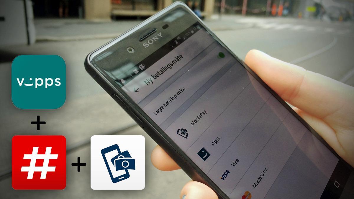 Nå kan du bruke Mobile Pay og Vipps til enda mer