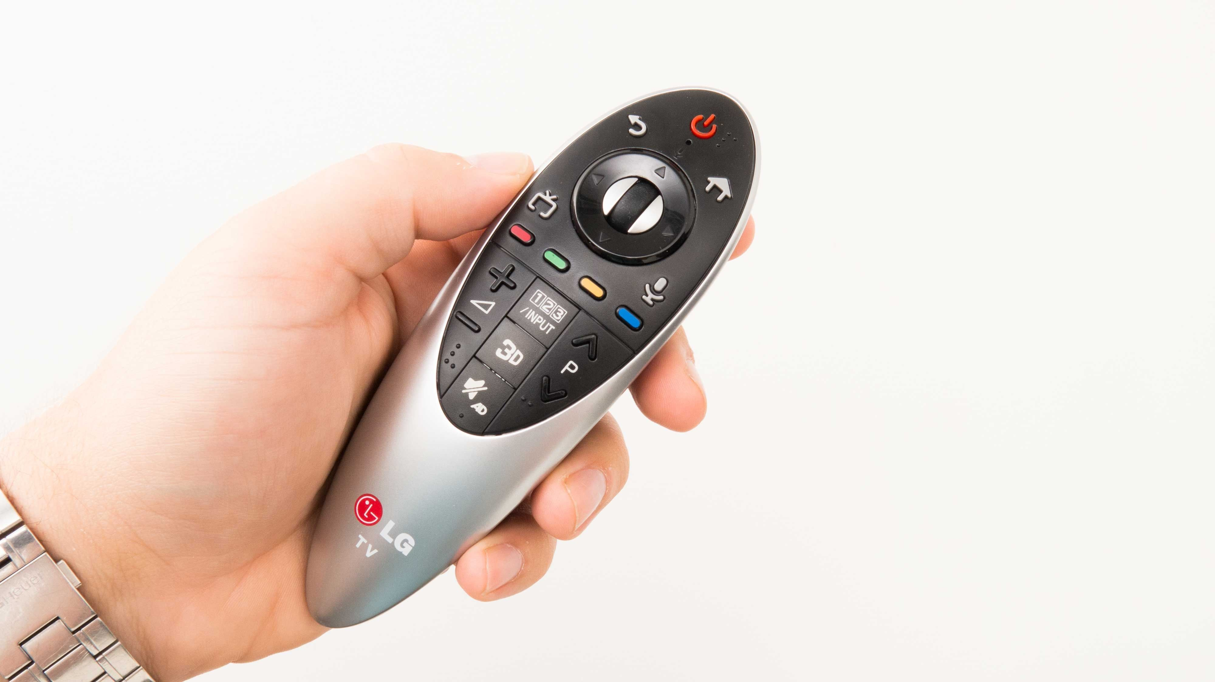 Magic Remote er stabil og god i bruk. .Foto: Ole Henrik Johansen / Hardware.no