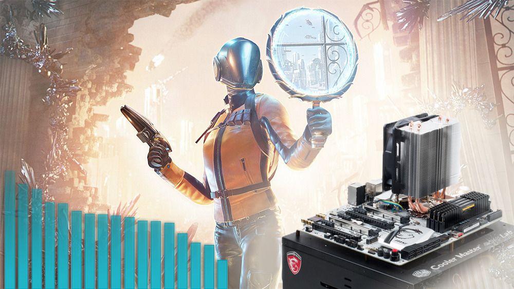 Ytelsestest i 3DMark Time Spy