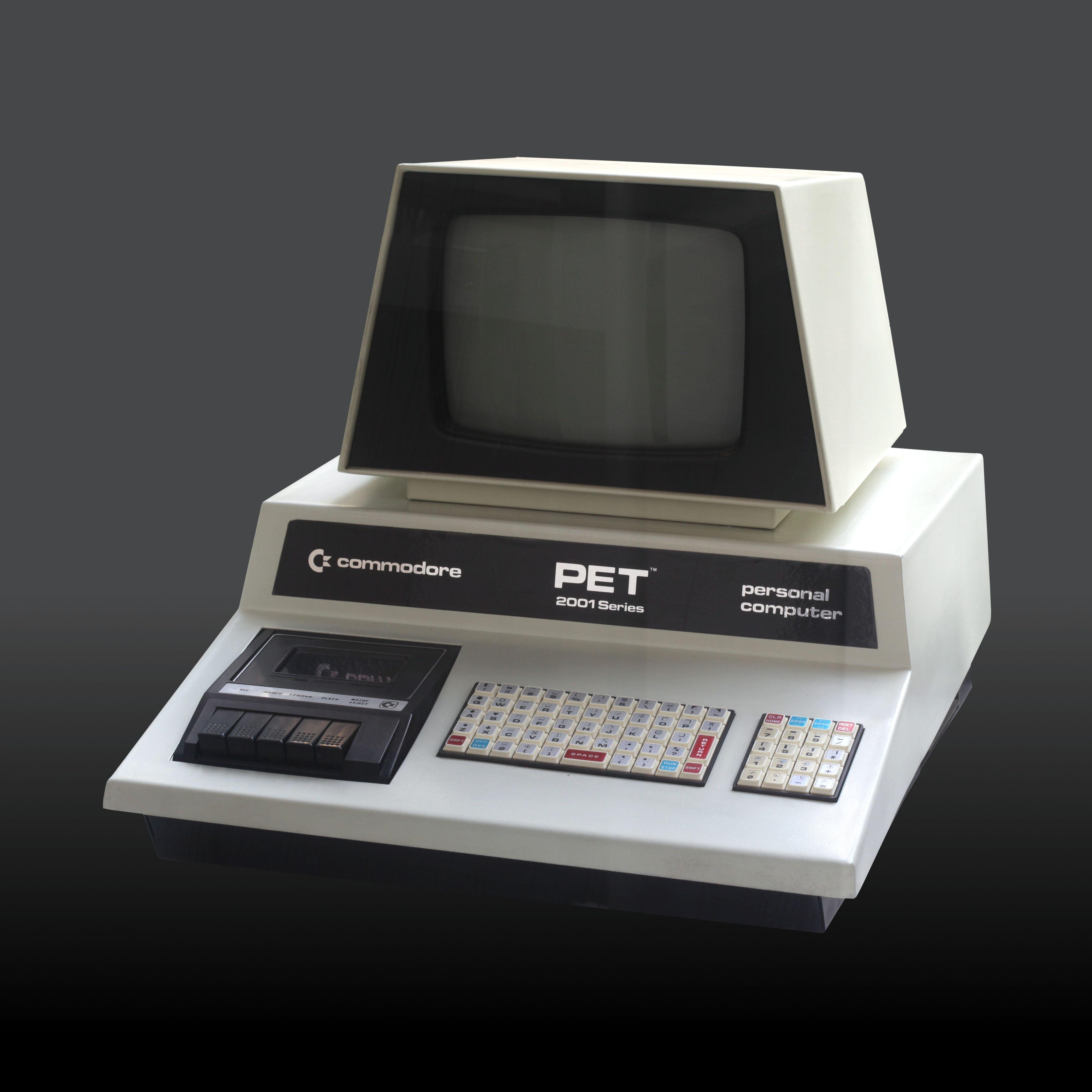 Commodore PET. Foto: Rama & Musée Bolo