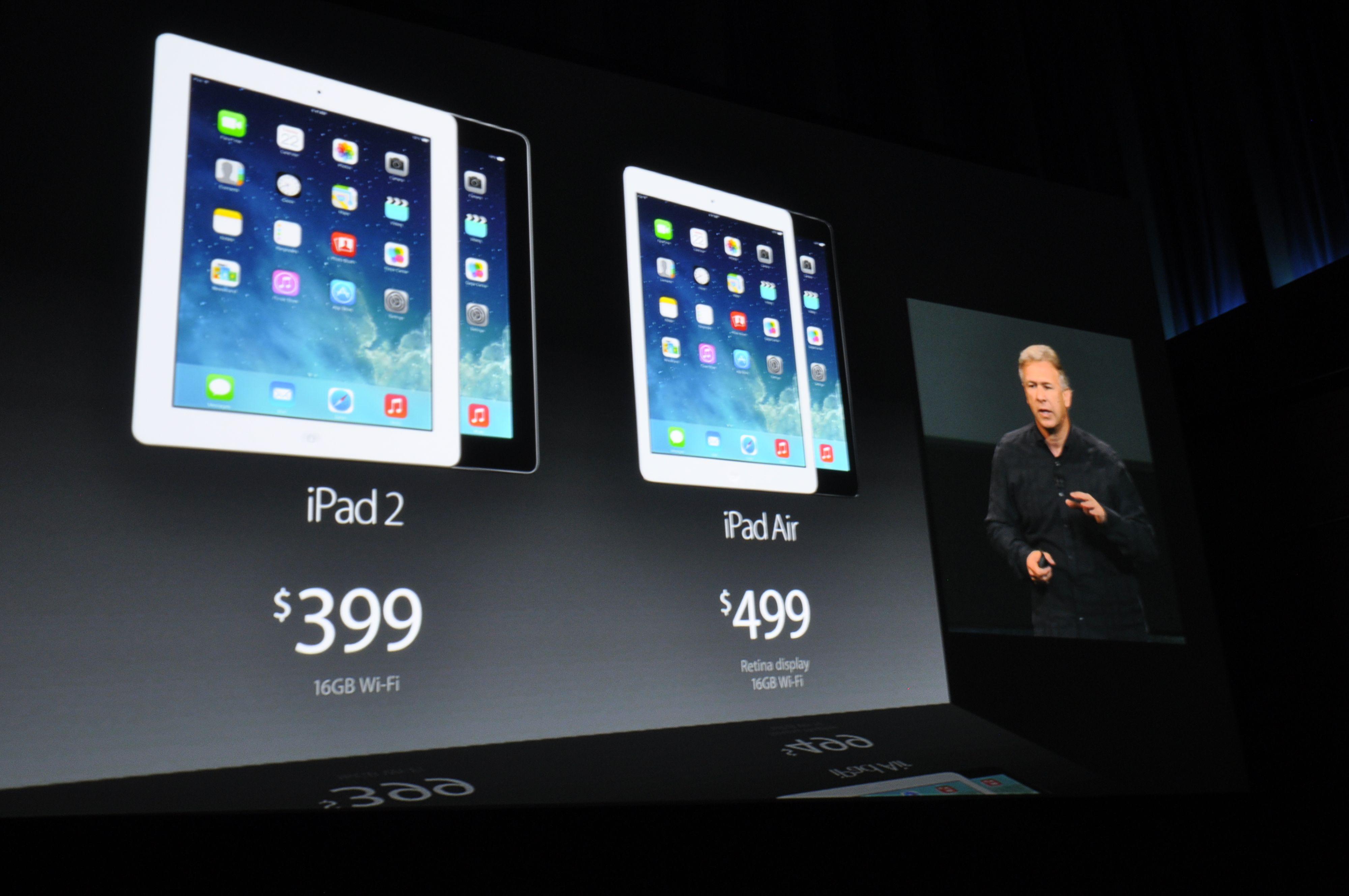 iPad Air blir tilgjengelig fra 1. november.Foto: Finn Jarle Kvalheim, Amobil.no