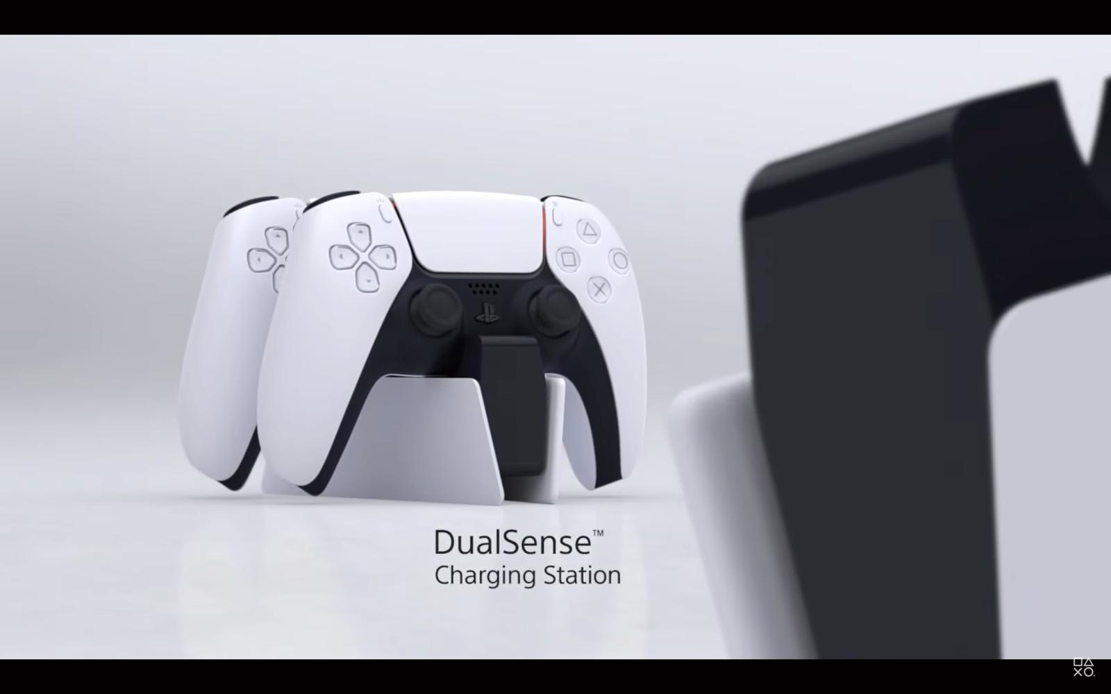 Slik ser den nye PlayStation 5-kontrolleren ut.